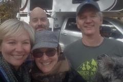 mit Patricia & Doug aus Canada