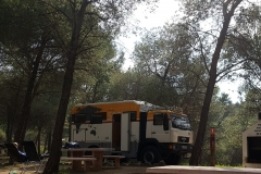 traumhafter Stellplatz im Ardales Parque