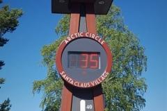 35 Grad am Polarkreis