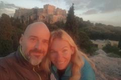 Selfie mit Akropolis