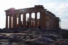Akropolis fast ohne Touris