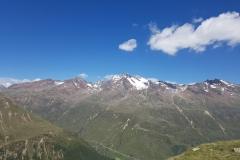 Bergpanorama mit Wildspitze