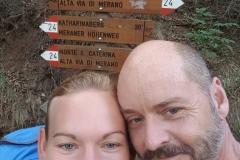 Einstieg in den Meraner Höhenweg