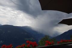 das Unwetter kommt