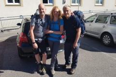 die 3 Wanderfreunde Peter, Michaela & Peter
