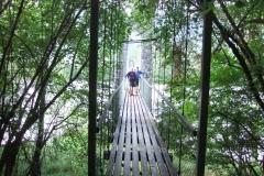 Innhängebrücke vor Stams