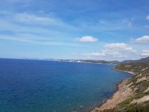 Küstenpanorama zwischen Alghero und Bosa