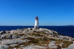 der Leuchtturm am Peggys Cove