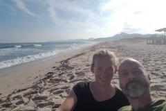 Strand beim Capo Ferrato