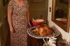 die wunderbare Köchin und ihr Truthahn