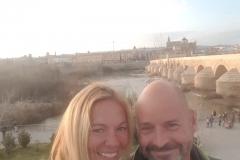 an der römischen Brücke
