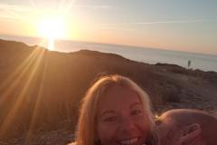 Abschied vom Strand in Scivu