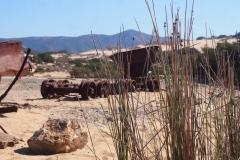in den Dünen von Piscinas