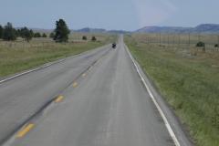 auf dem Weg zum Custer State Park