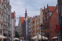 bunte Fassaden in Danzig