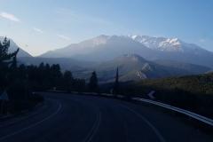 Bergpanorama auf dem Weg nach Delphi
