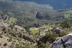Blick auf Delphi von oben