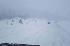 auf dem Wolf Creek Pass - 3500 Meter