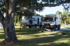 unser Stellplatz auf dem Flamingo Campground
