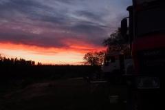 Sonnenuntergangsstimmung