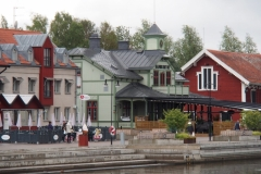 am Hafen in Nyköping