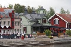 am Hafen in Nyköping