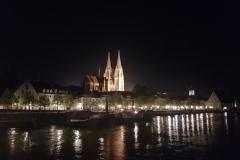 Regensburg @ night