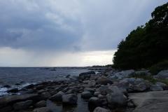 an der Küste im Stärnö-NP