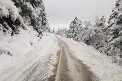 Stellplatzsuche auf dem Weg zur Fähre nach Kreta
