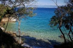 Strand auf der Insel Krk