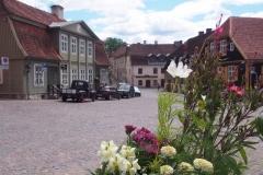 Rathausplatz in Kuldiga