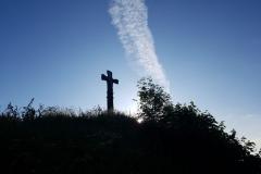 Kreuz aus der Wikingerzeit an der Westküste
