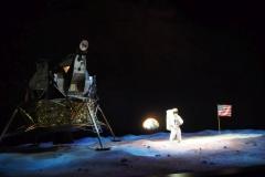 hier fanden die Filmaufnahmen zur Mondlandung 1969 statt - SCHERZ ;-)