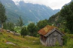 auf dem Weg zur Gletscherzunge Brenndalsbreen