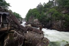 am Lachsfluss bei Egersund