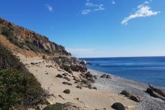 die Küste bei Paleochora