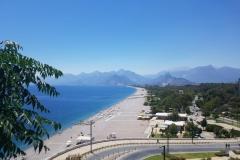 unser Strand für 14 Tage in Antalya