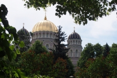russisch-orthodoxe Kathedrale in Riga