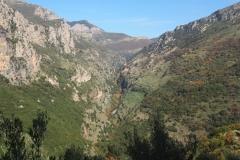 Blick von oben in den Canyon