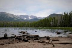 am Bierstadt-Lake (heißt wirklich so) im Rocky Mountain NP