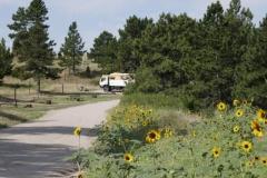 ein schöner Stellplatz in der Wildcat Recreation Area