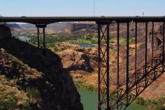 Brücke über den Snake River Canyon bei Twin Falls