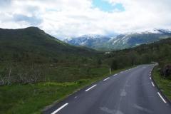 Anfahrt zum Gaularfjellet