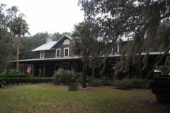 das ehemalige Clubhaus