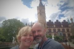 vorm Schweriner Schloss...