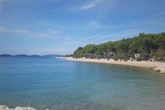 Strand bei Sibenik