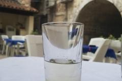 in der netten Kneipe in Split
