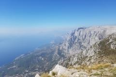 Blick vom Vosak auf die Riviera Makarska