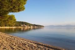 unser Hausstrand für 4 Tage an der Riviera Makarska