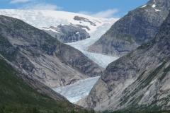 die sehr bekannte Gletscherzunge Nigardsbreen